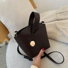 Vintage New Fashion Female Tote Bucket Bag High Quality Leather Womens