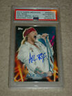 Axl Rose and the 2013 Topps Archives Baseball Heavy Metal Autographs Lineup 19