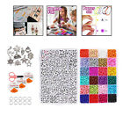 5000Pcs Glass Seed Bead Kit Spacer Beads Charms Beading Jewelry Findings