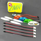 Navigation Flash LED Light Kit For Fixed Wing FPV Racing RC Drone Quadcopter
