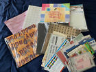 Huge Lot Of 12x12 Scrapbooking Paper Sheets  Embellishments Over 7 Pounds