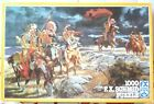 Schmid Red Indians Jigsaw Puzzle 1000 Pce Complete Native Americans RARE VINTAGE