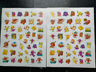 84 Ct Two Full Sheet Highlights Scratch  Sniff Fruit Stickers Berry Grape Trend