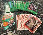 1977 Topps Star Wars Card Complete 66 Card Set +11 Stickers Green Series 4