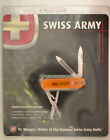Wenger Esquire Swiss Army knive orange translucent New in package NIP 3003