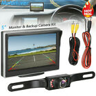 5 Monitor for RV Truck Car Wireless Night Vision System+Rear View Backup Camera