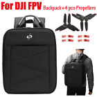 4 pcs Propellers +Portable Carrying Backpack Bag for DJI FPV Drone Accessories