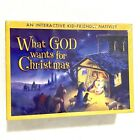 What GOD Wants for Christmas Nativity Set for Kids