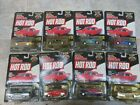 Racing Champions Hot Rod Magazine Die Cast Cars lot of 8