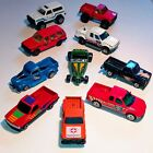 Lot Of 10 Vintage Diecast Trucks Matchbox Welly Maisto etc Loose 1 64 3 Ford