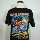 IRON MAIDEN Run To The Hills T Shirt Black Mens size 2XL NEW NWOT