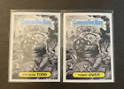 Garbage Pail Kids Beyond The Streets Mister Cartoon Set 29a & b Totaled Todd +