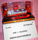 Code 3 12703 FDNY NY City Fire Department RESCUE 5 Staten Island New In Box