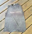 Vintage 1983 TALKING HEADS SPEAKING IN TONGUES sleeveless shirt 80s rock band M