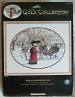 Dimensions Gold Collection WINTER IMPRESSIONS Cross Stitch Kit Victorian 35053