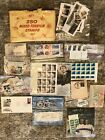 Large Collection hundreds of World Stamps Most older than 40 yrmany in album