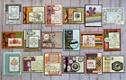 18 Fall Autumn Thanksgiving Halloween greeting cards envelopes Stampin Up more
