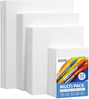 FIXSMITH Painting Canvas Panels Multi Pack 5x78x109x1211x14 8 of EachSet of