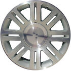 OEM Used 17x75 Alloy Wheel Rim Sparkle Silver Painted with Machined Face 3640