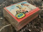 1977 Topps Star Wars Complete 66 Card Set +11 Stickers & Wrapper Red Series 2