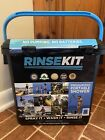 Rinse Kit 2 Gallon Pressurized Portable Shower Camping Beach Boating Vacation