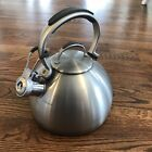 Kitchenaid Stainless Steel Whistling Tea Kettle 2 Qt Stay Cool Handle