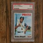 1970 Topps Willie Stargell Auto Autograph #470 PSA 7 NM Authentic Pgh Pirates