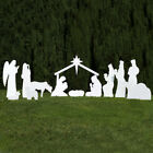 Outdoor Nativity Store Complete Outdoor Nativity Set White