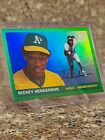 Rickey Henderson Cards, Rookie Card and Autographed Memorabilia Guide 22