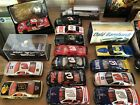 Large collection of Nascar memorabilia die cast figurines collector cards