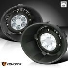 For 2010 2013 Chevy Camaro Clear LED Fog Lights Bumper Driving Lamp+Bezel+Switch