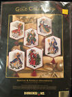 Dimensions The Gold Collection Santas  Angels Ornaments 8568 Cross Stitch 1995