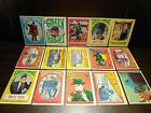 LOT OF 15 Original 1966 GREEN HORNET Trading Card STICKERS Topps Vintage
