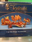 Fontanini Kings Accessories 4 Pieces for The fontinin Nativity Collection