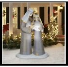 Gemmy 65 Ft Airblown Lighted Christmas Nativity Scene Inflatable Outdoor Decor