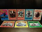 Lot Of 8 Bruce Lee Kato 1966 GREEN HORNET Trading Card STICKERS Topps Vintage