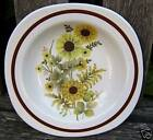 GLO-WHITE IRONSTONE ALFRED MEAKIN ENGLAND FLOWER PLATE