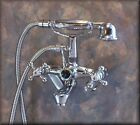 #7255 FAUCET w. hand shower for CLAW FOOT / feet TUB