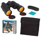 10X50 Magnification Binoculars Lenses are Ruby coated