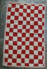 White 1-Patch Antique Doll Quilt ~NICE FABRICS!