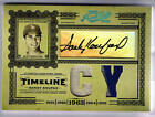 SANDY KOUFAX 05 PRIME CUTS AUTO GAME USED JERSEY # 5 10 SP DODGERS