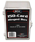 Case of 45 BCW 150 Count Hinged Trading Card Boxes box