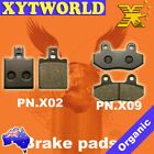 Front Rear Brake Pads HYOSUNG Exceed 125 (MS1-125/150)