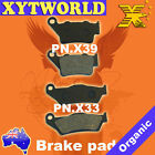 Front Rear Brake Pads KTM LC-R 640 Adventure R 2000