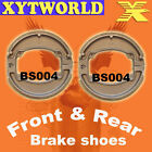 Front Rear Brake Shoes Honda SCV100 SCV 100 Lead 03-08