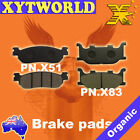 Front Rear Brake Pads for Yamaha YP250 2000-2007 YP 250 DX/A Majesty 1998-1999