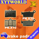 Front Rear Brake Pads for GAS-GAS SM Halley 125cc 2009