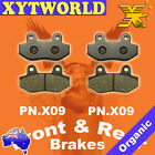 Front Rear Brake Pads for KYMCO Nexxon 50 2008-2009