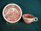 Spode Pink Tower New Mark Cup and Saucer Set
