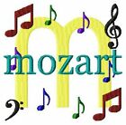 Music Notes Font Monogram Machine Embroidery Designs